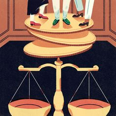 Litigation Funding and Shadow Flipping for Canadian Lawyer Magazine Illustration by Jeannie Phan