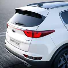 #Whatsnew : Feel more imposing rear end design of the All-New #Sportage