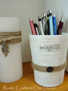 organizing ideas by rustic-crafts.com