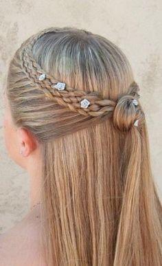Dutch 5 strand mermaid lace braid hairstyle by Divonsir Borges