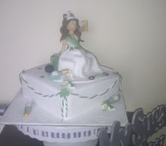 Cake for a St Patrick's Hen Party