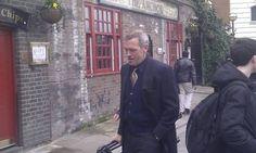 Hugh in London March Laurie London, Hugh Laurie, March 6, British Men, Comedians, Crushes, Actors, People, Faces