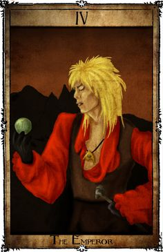 Bowie Tarot Collection - IV - The Emperor by Triever on deviantART
