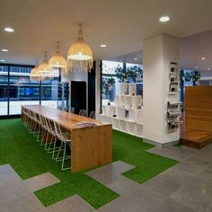 csped artificial tambin en espacios interiores alpari offices 201 bishopsgate offices london office