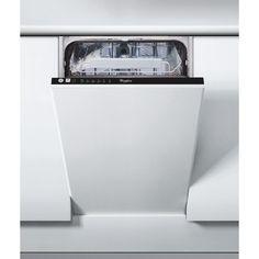 Whirlpool ADG 201 Beépíthető mosogatógép, 10 teríték, 6 program, A+ energiaosztály, 45 cm