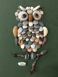 Creative Diy Ideas For Pebble Art Crafts! – Do It Yourself Samples Sponsored Sponsored Creative Diy Ideas For Pebble Art Crafts! – Do It Yourself Samples Owl Crafts, Diy And Crafts, Crafts For Kids, Arts And Crafts, Creative Crafts, Creative Ideas, Creative Things, Art Pierre, Rock And Pebbles