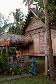 Traditional Malay decor of House BonTon Resort in Langkawi.