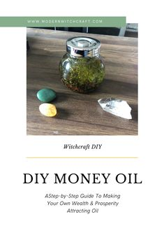 A step by step guide to making your own DIY Money Oil to help attract and manifest wealth, luck, & prosperity. This magickal oil can be used for anointing candles, in jar spells, on petition papers and more! Jar Spells, Healing Spells, Candle Spells, Spells That Actually Work, Money Spells That Work, Money Oil Recipe, Powerful Money Spells, Hoodoo Spells, Magick Spells