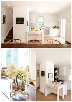 Daylesford Home – Comma – The Design Files Daylesford, Australian Homes, The Design Files, Kitchen Layout, Kitchen Interior, Beautiful Homes, Sweet Home, Lounge, Dining