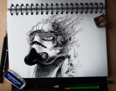 Amazing drawings by PEZ--http://www.pez-artwork.com/