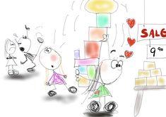 Kreativ søndag + en fantastisk nyhet! Lady, Blog, Creative, Blogging
