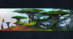 Zandalari Jungle Art from World of Warcraft: Battle for Azeroth #art #artwork #videogames #gameart #conceptart #illustration #worldofwarcraft #battleforazeroth #wow #environmentdesign Jungle Art, Alien Worlds, Environment Design, World Of Warcraft, The Expanse, Art World, Game Art, Concept Art, Battle