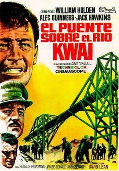 El puente sobre el río Kwai (1957) Reino Unido. Dir: David Lean. Aventuras. Drama. Bélico. II Guerra Mundial. Racismo - DVD CINE 1003