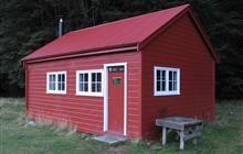Historic Red Hut, Mackenzie Country.