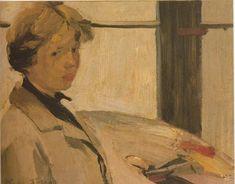 Portrait of painter Maria Hors - Nikolaos Lytras Art Database, Figure Drawing, Painting Inspiration, Great Artists, Impressionist, Tapestry, Art Prints, Drawings, Artwork