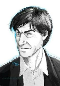 Patrick Troughton,  by Sabrina Pohle