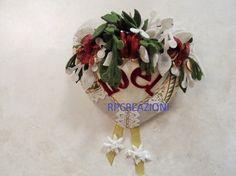 Cuore decorato con feltro www.rp-creazioni.it