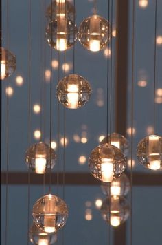 bocci pendant lights. and they only cost six hundred ...give or take ten thousand or so.