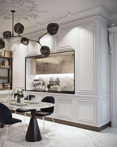 Interior Design Magazine, Best Interior Design, Interior Design Kitchen, Interior Design Inspiration, Modern Classic Interior, Magazine Design, Luxury Interior, Modern Luxury, Room Inspiration