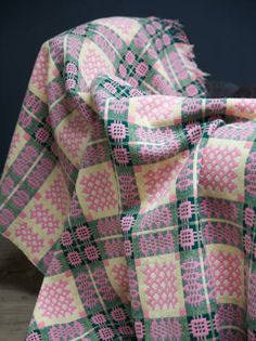 Traditional Welsh Blanket, Decorative Antiques, Drew Pritchard Welsh Blanket, Wool Blanket, Cosy Home, Textiles, Cymru, Weaving Projects, Hanging Tapestry, Weaving Patterns, Textile Design