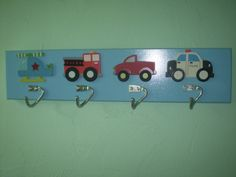 Wall Decorboy's clothes hanger by 2riverswoodshop on Etsy, $24.95