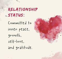 Inner Peace, Gratitude, Self Love, Relationship, Self Esteem, Grateful Heart, Relationships, Thanks, Be Grateful