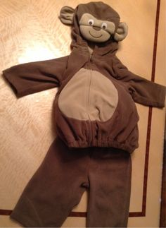 FREE Sooo Cute Monkey Costume 3-6 Months