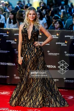 Patricia Montero attends the red carpet of the Gala Inaguration during the 20th Malaga Spanish Film Festival at the Cervantes Theater on March 17, 2017 in Malaga, Spain.