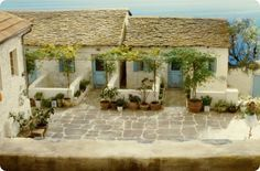 Never cared for the movie...but LOVE the Mamma Mia house.