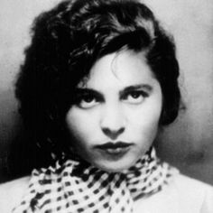 Avant-Garde Jewish German language Poet Mascha Kaléko, made famous at an early age by her witty satirical verses in the tradition of Heine and Tucholsky, she lived out the fate of many of those forced to give up their home and career by the Nazis. b. 1907 Chrzanow, Poland