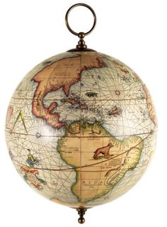 467 best think global images on pinterest map globe vintage globe gerardus mercator old world globe map hanging atlas 13 gumiabroncs Image collections
