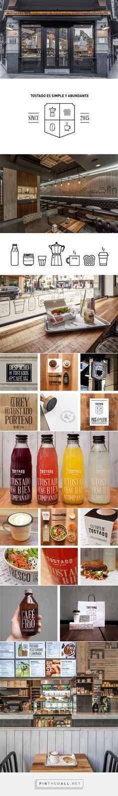 Tostado Cafe Club | Identity Designed - created via https://pinthemall.net