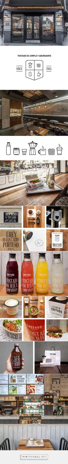 Tostado Cafe Club | Identity Designed... - a grouped images picture - Pin Them All