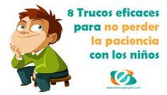 ¡Que dificil es no perder la paciencia con los niños! Necesitamos urgentemente estos 8 trucos eficaces para no perder la paciencia con ellos