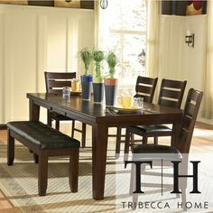 Tribecca Home Camden 6-piece Dining Set | Overstock.com Shopping - Big Discounts on Tribecca Home Dining Sets