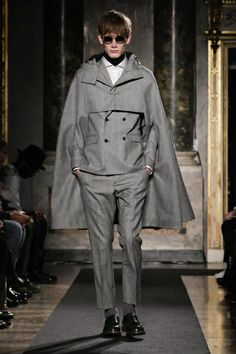 This LOOKS LIKE A VILLIAN'S OUTFIT Ports 1961 Menswear Fall Winter 2014 Milan - NOWFASHION