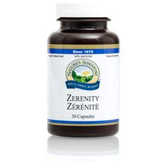 Great new formula for stress and calming the brain  - Zerenity (30 caps)
