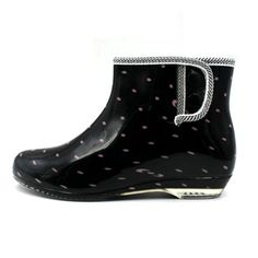 Sheinfashion Women's Flats Rain Boots Ankle Garden Shoes -- Details can be found by clicking on the image.