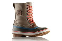Totally waterproof and cold-proof, this pair is rated for 32 degrees below, thanks to the thick, felt-like InnerBoot lining