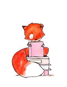 Нашла симпатичных лисичек, автор Carolyne Tillery… - Лисья Хатка