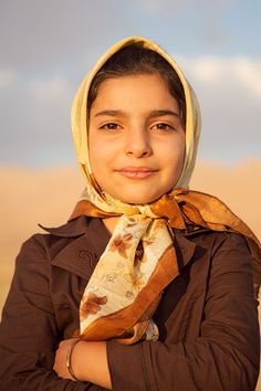 Girl - Aghdash, Iran--what a beautiful young woman