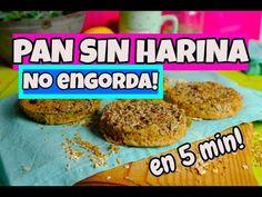 PAN SALUDABLE SIN HARINA QUE NO ENGORDA (Receta mejorada) - YouTube Pan Bread, Eat Healthy, Baked Potato, Recipies, Gluten Free, Baking, Ethnic Recipes, Table, Food