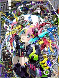 ARTIST: Hiroyuki Takahashi (タカハシヒロユキ) |  via: #Yellowmenace |  More: http://yellowmenace8.blogspot.com/search?q=Hiroyuki+Takahashi |  #Japaneseart #manga #anime #digitalart