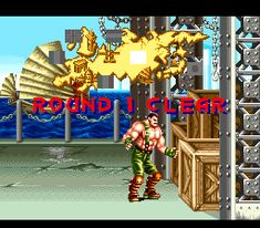 "* A click on the image will move you to the corresponding page.  SNES beat 'em up video game, ""Final Fight 2"" playing image ""Stage1"".   #SNES #Beat_em_up #GAME #Capcom #FinalFight2"