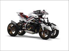 Yamaha Tesseract Quad-Bike