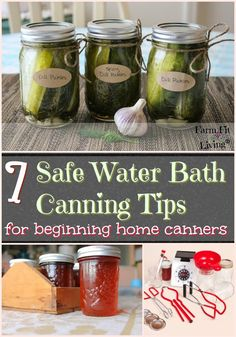 Are you interested in learning more about water bath canning? I'm making it simple for you today. Here's 7 safe canning tips using water bath that will help you get started. Easy Canning, Water Bath Canning, Canning Tips, Canning Recipes, Pickled Banana Peppers, Canning Banana Peppers, Stuffed Banana Peppers, Canning Pressure Cooker, Pressure Cooker Chicken