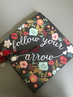 Graduation Cap - Follow your arrow