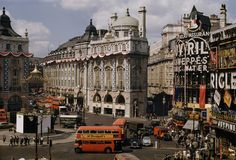 Alan for ever in…!! — london:   Piccadilly Circus photographed by David...