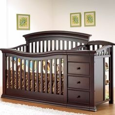 Sorelle Sedona Crib And Changer Rustic Taupe Baby