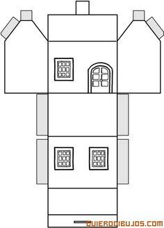 recortable casa - Cerca amb Google